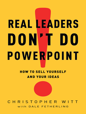 Real Leaders Don't Do PowerPoint Cover