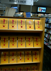 My book, Real Leaders Don't Do PowerPoint, is selling in South Africa