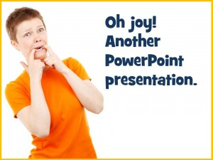Improving a PowerPoint presentation
